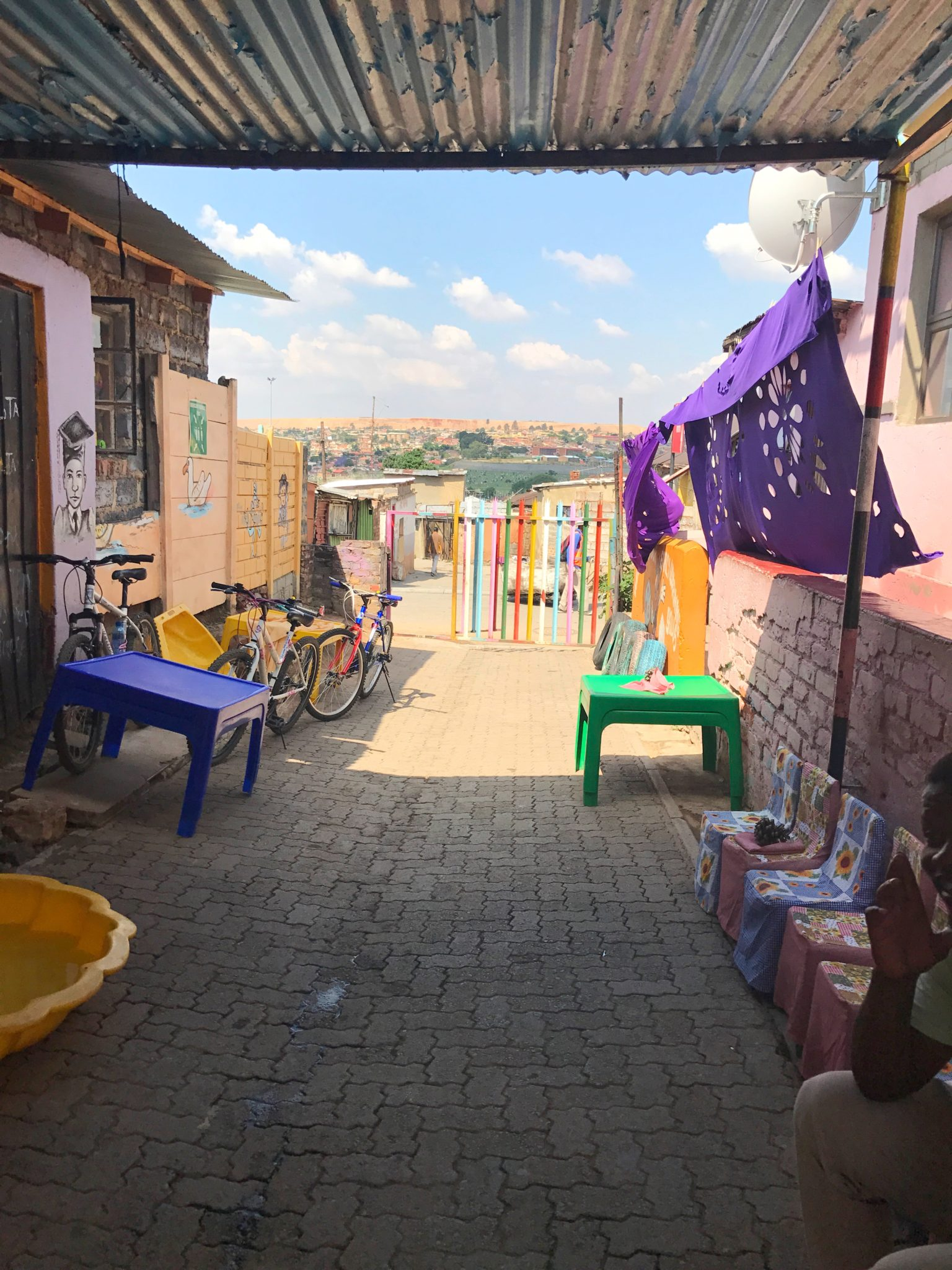 Cultural Immersion: Alexandra Township in Johannesburg.