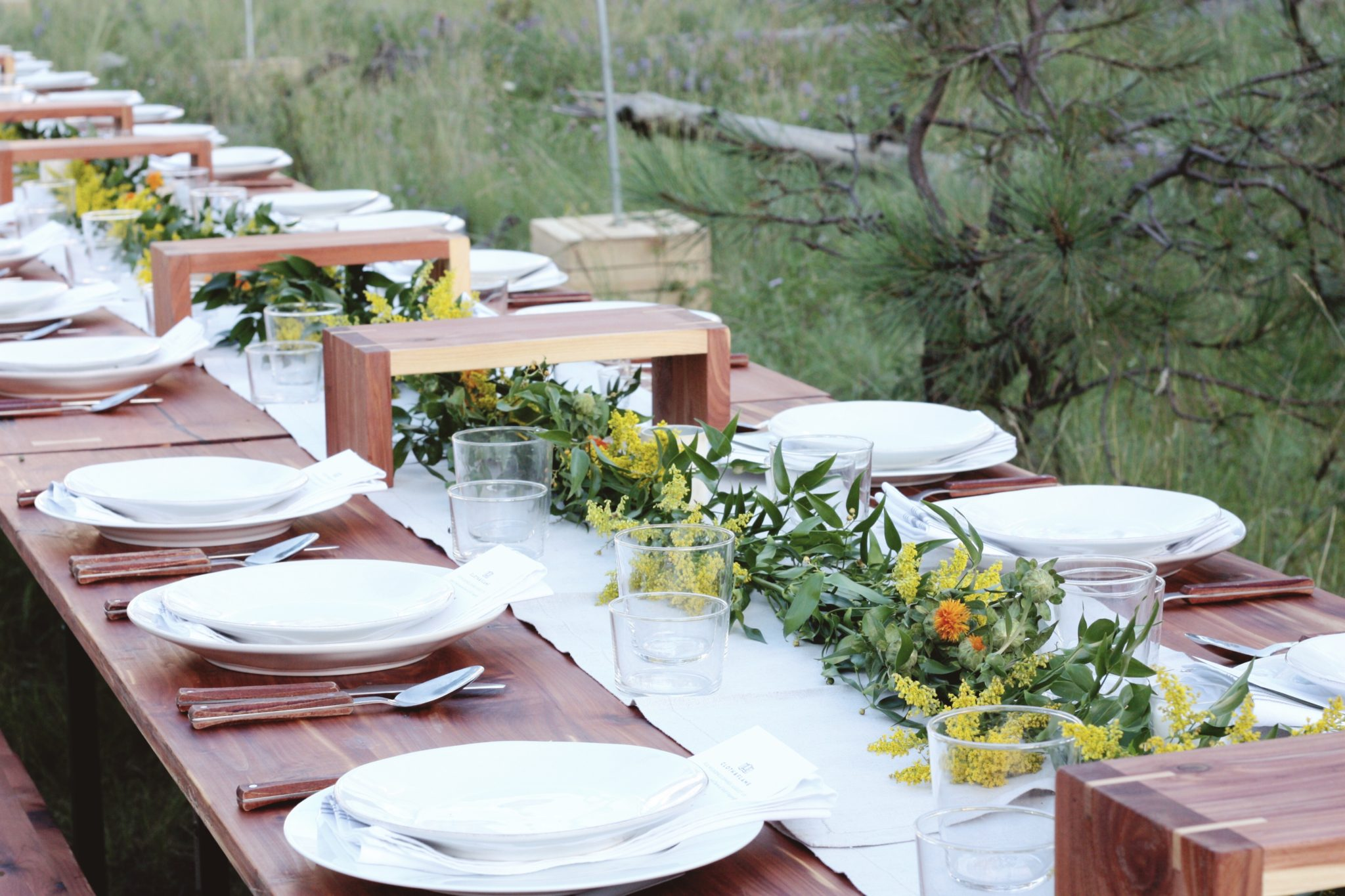 Cloth & Flame: A Wilderness Dinning Experience.