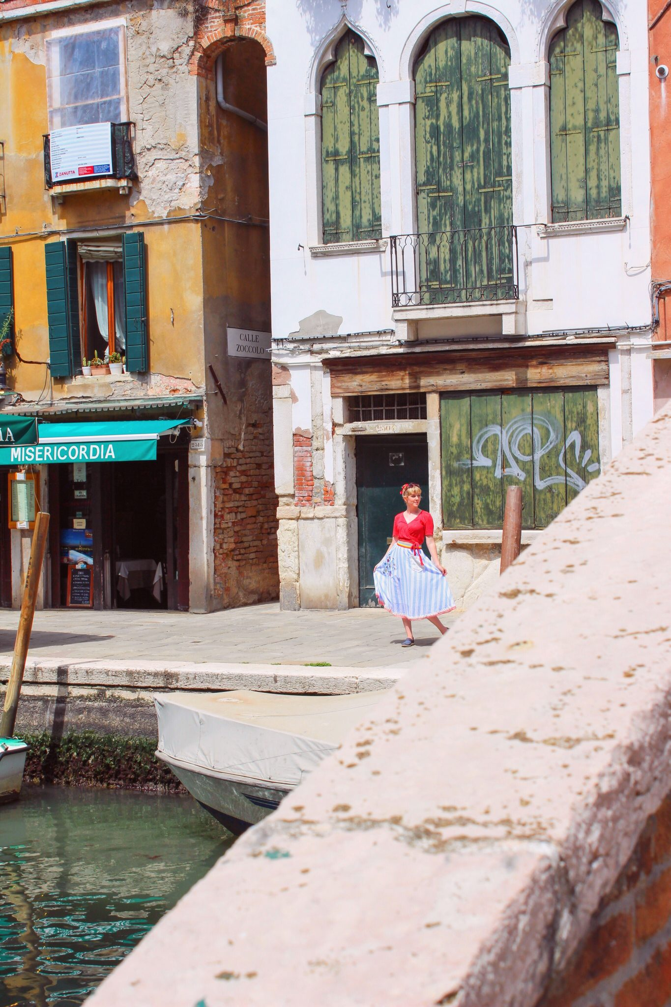 The streets of Venice. Photo by Misty Foster.