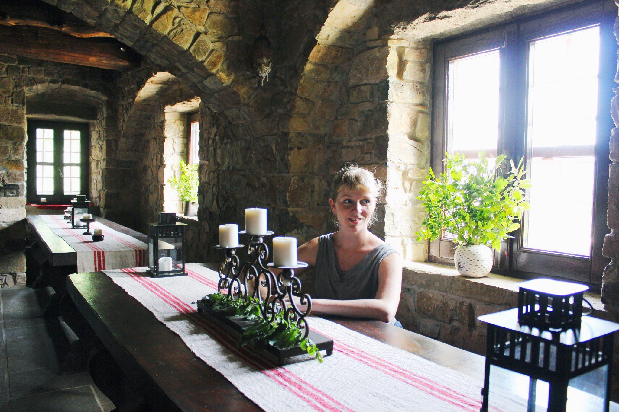 the refectory at Eremito