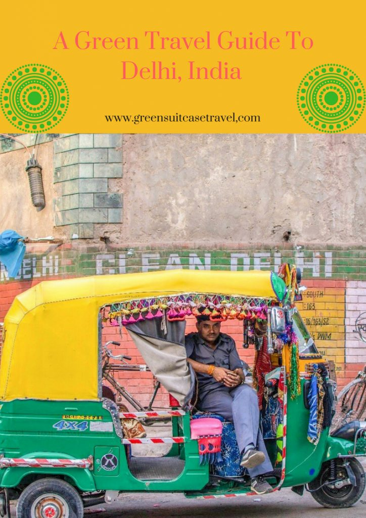 a green guide to delhi