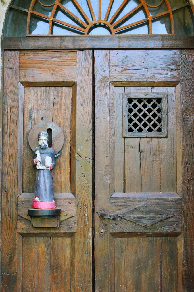 The front door to Eremito.