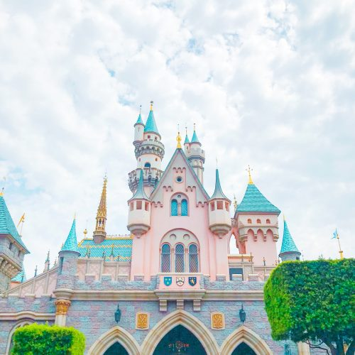 Sleeping Beauty's Castle at Disneyland. Photo by Misty Foster.