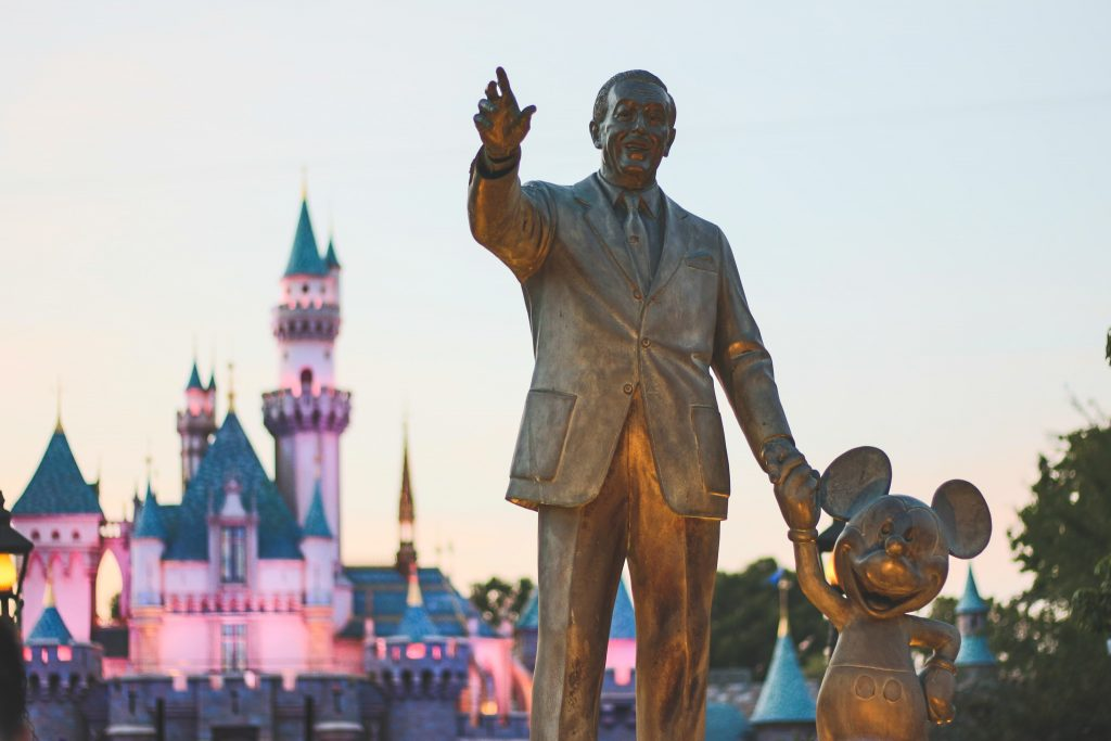 Walt & Mickey. Photo by Misty Foster.