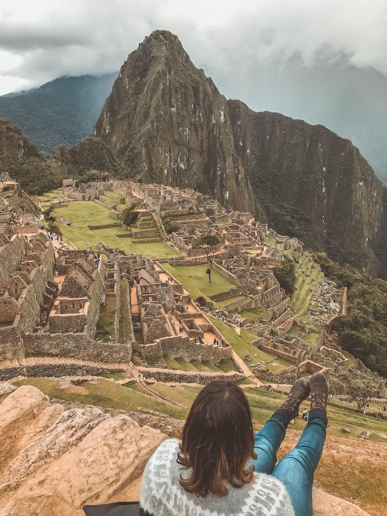 Lacy Lynch at Machu Picchu