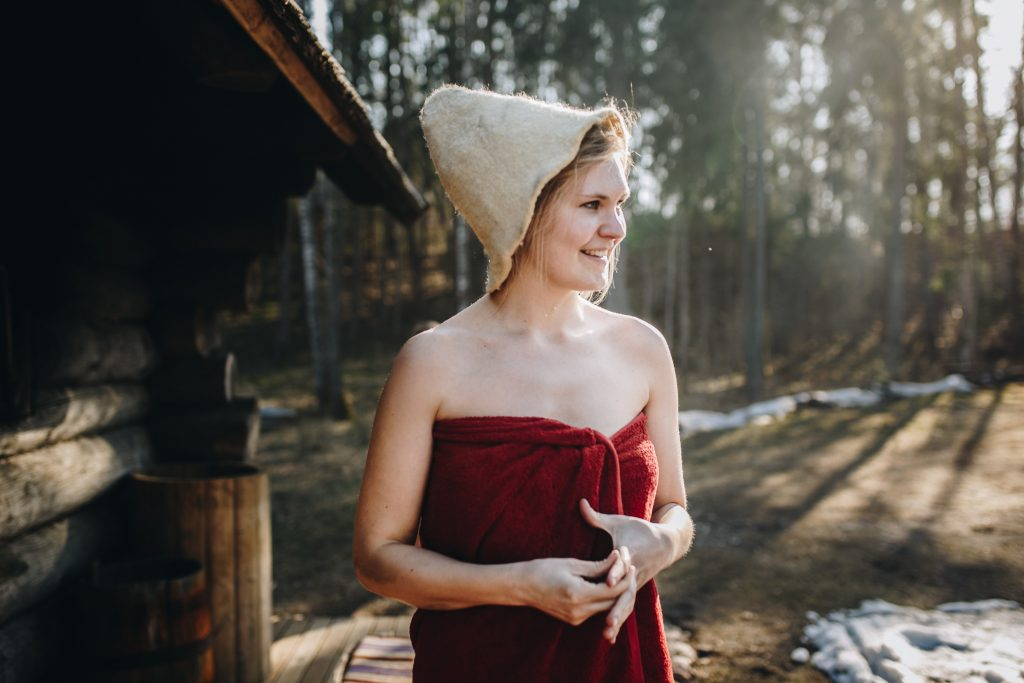 Finnish sauna bathing rituals. Photo by Unsplash.