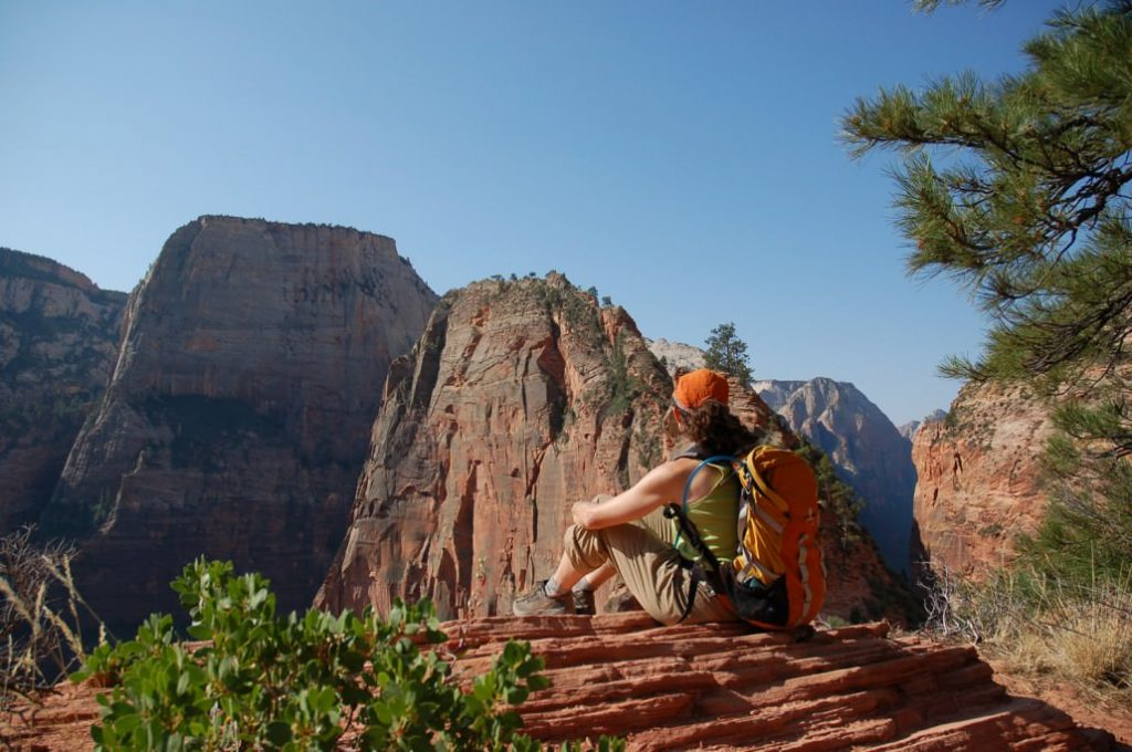 Hiking Utah's National Parks. Photo courtesy of visit St. George.